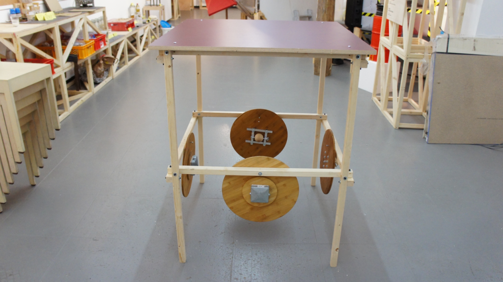 Mifactori Meeting Table Prototype 1 - Pic C